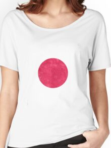 Japan Flag Proud Japanese Vintage Distressed Women's Relaxed Fit T-Shirt