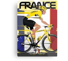 Tour De France Metal Print