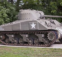 Sherman Tank by Russell Fry