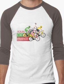 Tour De France Men's Baseball ¾ T-Shirt