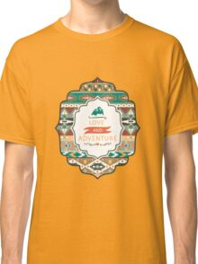 Seamless pattern in native american style Classic T-Shirt