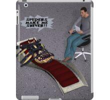 Arachnophobic Spider iPad Case/Skin