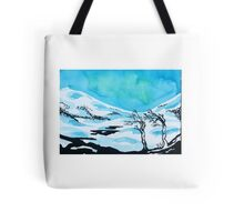 Northern light in ink Tote Bag