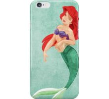 The Little Mermaid inspired design. iPhone Case/Skin