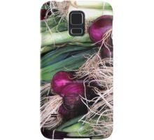 leeks and onions Samsung Galaxy Case/Skin