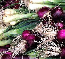 leeks and onions by hankierat