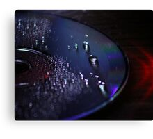 Hipster CD Canvas Print