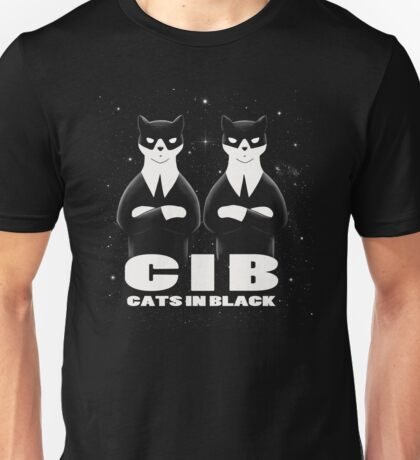 CIB (Cats In Black) Unisex T-Shirt