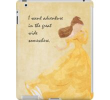 Beauty and the Beast inspired design. iPad Case/Skin