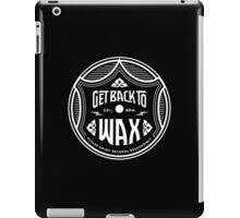 Vintage Record Label (mono) iPad Case/Skin