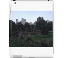 Gorgeous Boston Public Gardens iPad Case/Skin