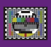 TV Test Pattern T-shirt - Big Bang Theory Inspired Sheldon's Tee by deanworld