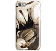 Quohog shells iPhone Case/Skin