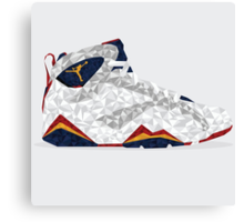 Jordan 6 Polygon Art Canvas Print