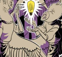 WTNV Angels Drawing Welcome to Night Vale Emblem Sticker
