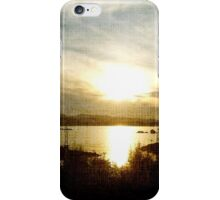 At the Going Down of the Sun iPhone Case/Skin
