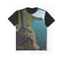 Grand Island Cliffs Graphic T-Shirt