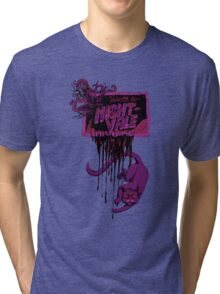 Welcome to Night Vale Zombie Drawing Khoshekh Tri-blend T-Shirt