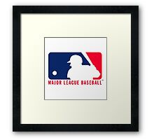 major league baseball Framed Print