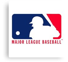 major league baseball Canvas Print