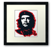 Che - Red Framed Print