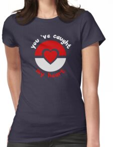 Pokemon Catch My Heart Womens Fitted T-Shirt