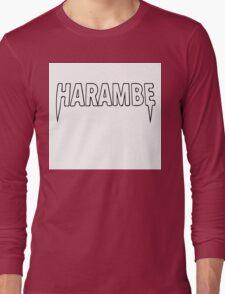 Harambe x Yeezus  Long Sleeve T-Shirt