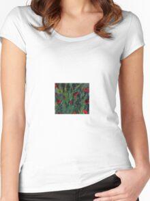 Poppy Garden Women's Fitted Scoop T-Shirt