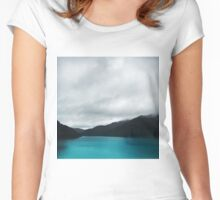 The Waters And The Wild Women's Fitted Scoop T-Shirt