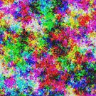 Colorful Clouds Abstract by angelandspot
