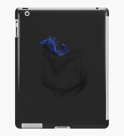 Little Dragon In My Pocket 1 - Blue iPad Case/Skin
