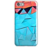 Polygonal,multicolor,abstract art,contemporary iPhone Case/Skin