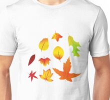 Fall Leaves Unisex T-Shirt