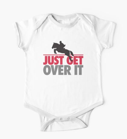 Just get over it - riding One Piece - Short Sleeve
