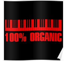 100 organic red Poster
