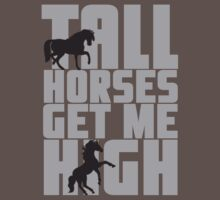 Tall horses get me high by nektarinchen