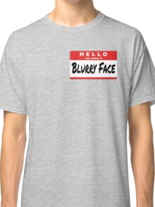 Twenty One Pilots Quote - Hello My Name Is Blurry Face Classic T-Shirt
