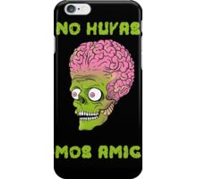 Mars Attacks (Marte Ataca) - No huyas somos Amigos iPhone Case/Skin