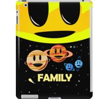 Solar System Family (to scale) iPad Case/Skin