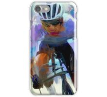 Cyclist One iPhone Case/Skin