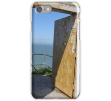 Alcatraz View iPhone Case/Skin