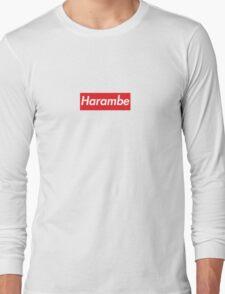 Supreme x Harambe Long Sleeve T-Shirt
