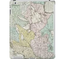 Vintage Map of Great Lakes & Canada (1761) iPad Case/Skin