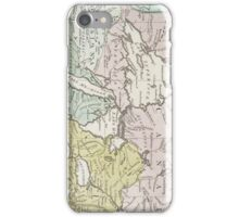 Vintage Map of Great Lakes & Canada (1761) iPhone Case/Skin