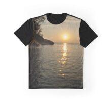 Grand Island Sunset Graphic T-Shirt