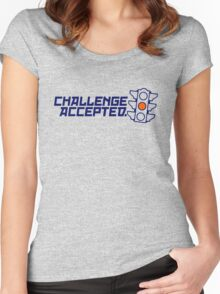 Challenge Accepted (4) Women's Fitted Scoop T-Shirt