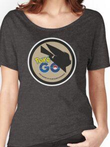 Pokemon Go MashUp Evangelion Logo Women's Relaxed Fit T-Shirt