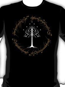 Ringed White Tree of Gondor T-Shirt