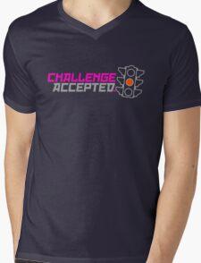 Challenge Accepted (5) Mens V-Neck T-Shirt