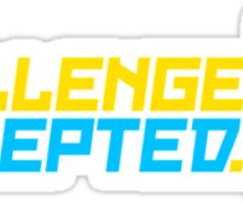 Challenge Accepted (7) Sticker